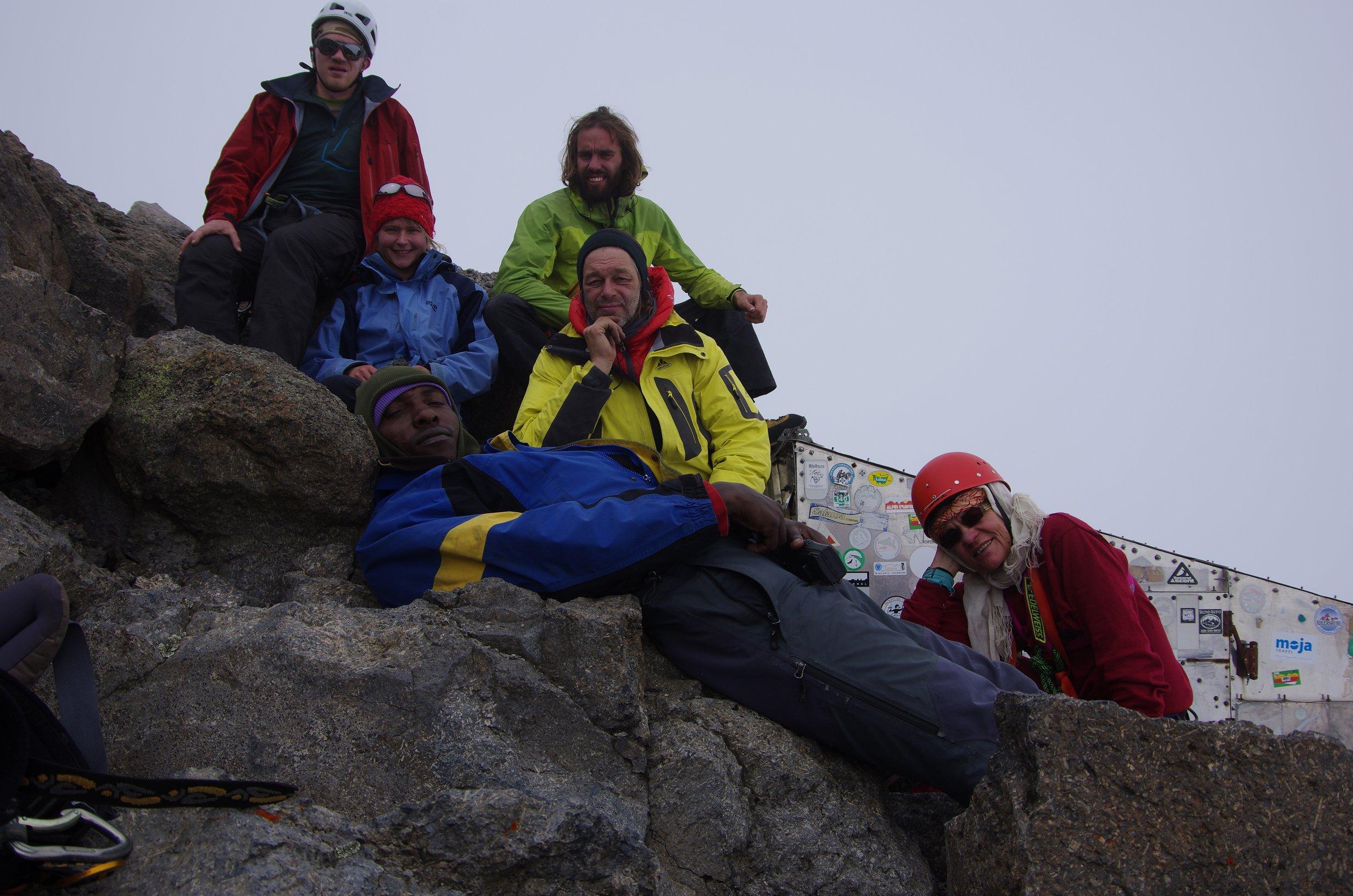 Mount Kenia Gipfelbild