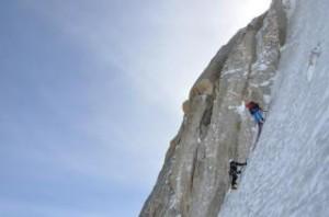 Eisklettern in Chamonix: Coaching.