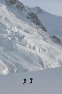 Ski in Chamonix, Exped Training