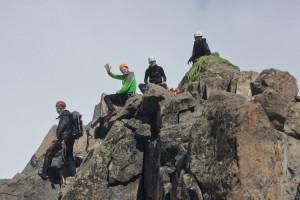 Mount Kenya 2013 Xmas 6 Nelion Summit