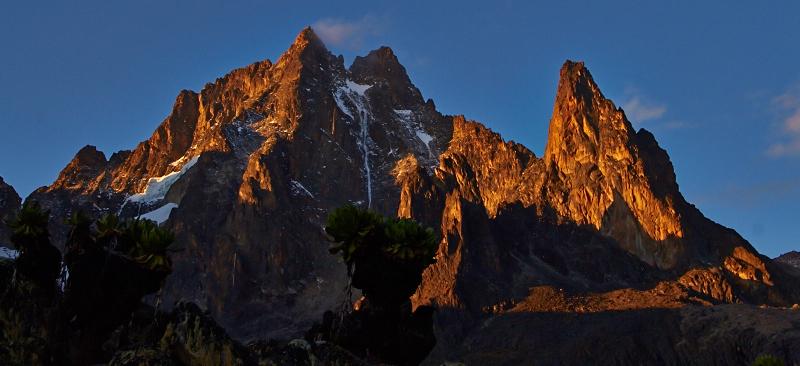Blick auf den Mount Keina, Teleki Tal