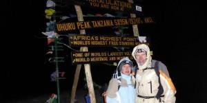 Uhuru Peak - der höchste Punkt des Kilimandscharo