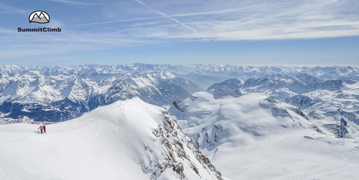Besteigung des Piz Palü im Rahmen des SummitClimb.ch Expeditionsevents