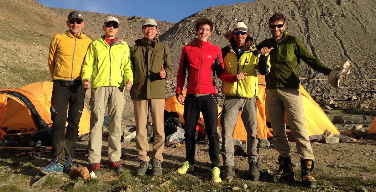 SummitClimb 2016 Muztagh-Ata 2.Team im Basislager