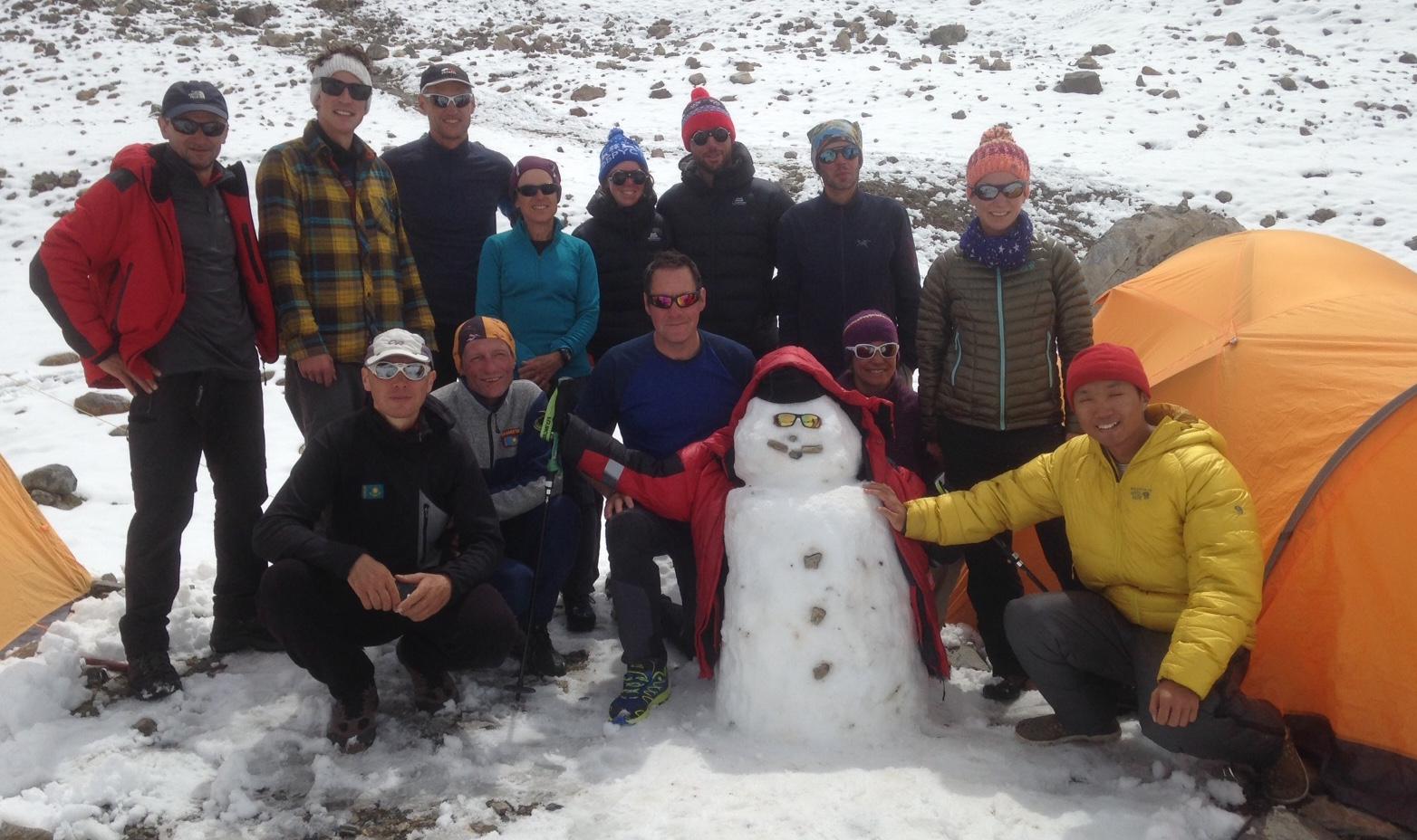 Muztagh Ata Team 2017 im Basislager