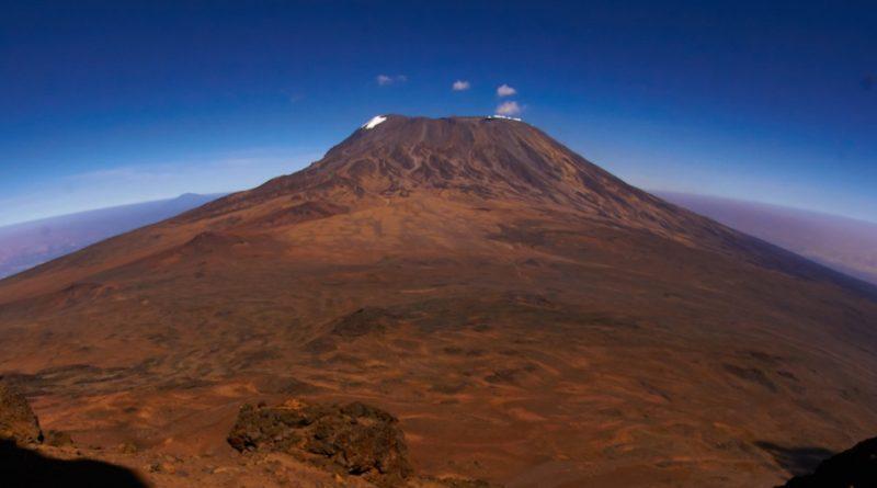 Kilimandscharo: Blick auf dem höchsten Berg von Afrika, Mawenzi-Route (Bild: Felix Berg)