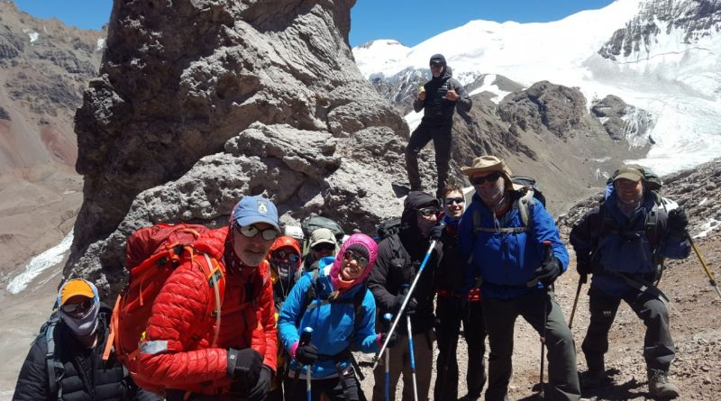 SummitClimb Aconcagua 2018 Team am Berg
