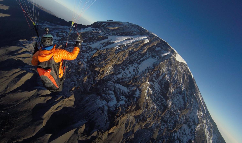 Paragliding am Kilimanjaro