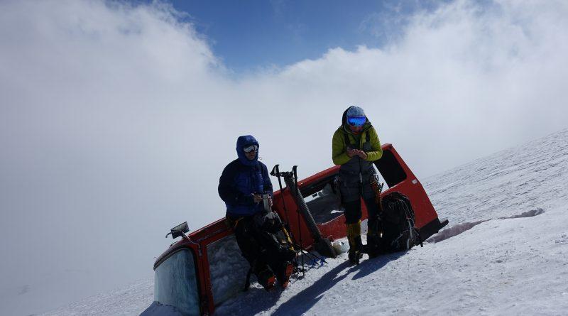 Elbrus Ski Snowcat Accident