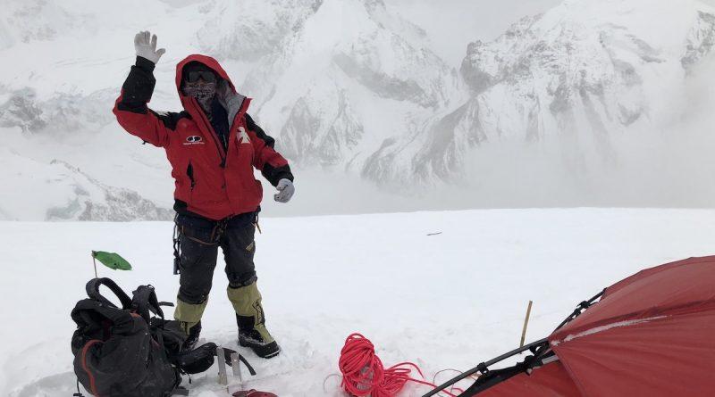 Jangbu Dawa Sherpa am Camp 1.5 - Cho Oyu