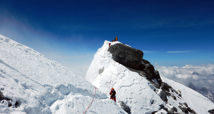 Mount Everest Hillary Step