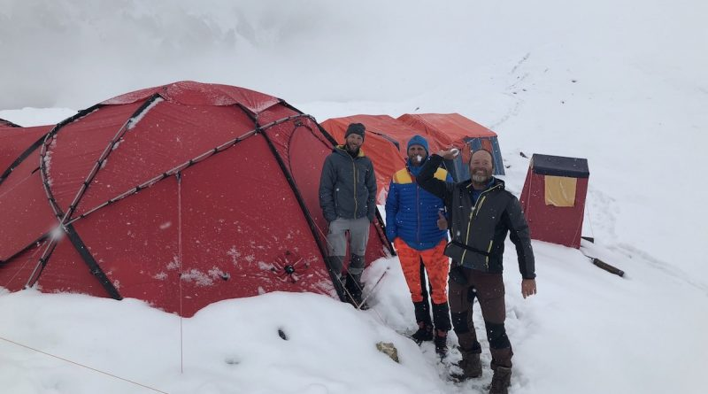 Basecamp of SummitClimb Gasherbrum Expedition