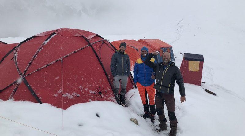 Basecamp of SummitClimb Gasherbrum Expedition