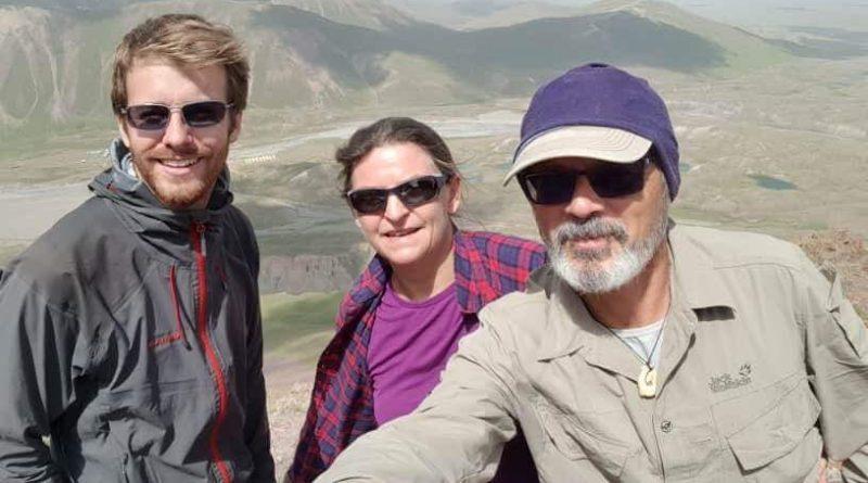 Trekker beim Pik Lenin Basislager