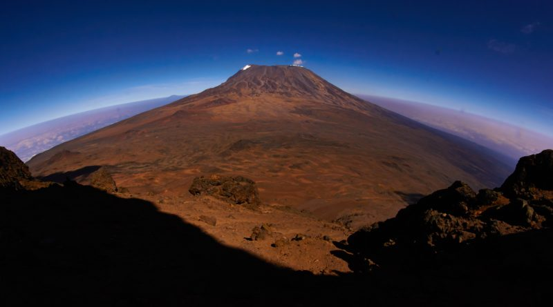 Kilimanjaro - Kilimandscharo. View from Mawenzi Peak.