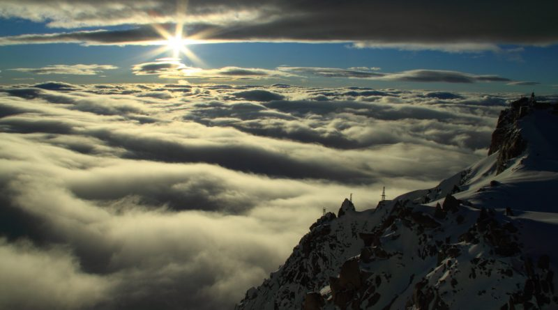 Cosmique View - Mont Blanc, Chamonix