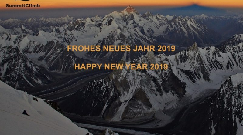 New Year 2019 wishes by SummitClimb