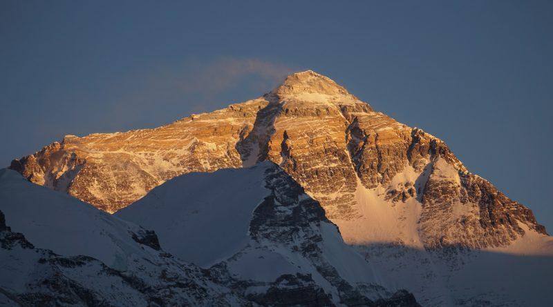 Mount Everest - Sicht vom Norden, Tibet