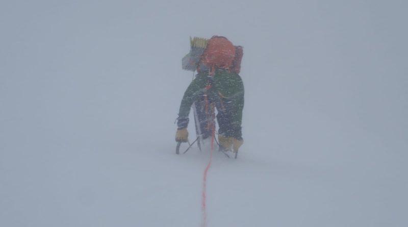 Bergsteiger, Sturm im Himalaya, Langtang Lirung