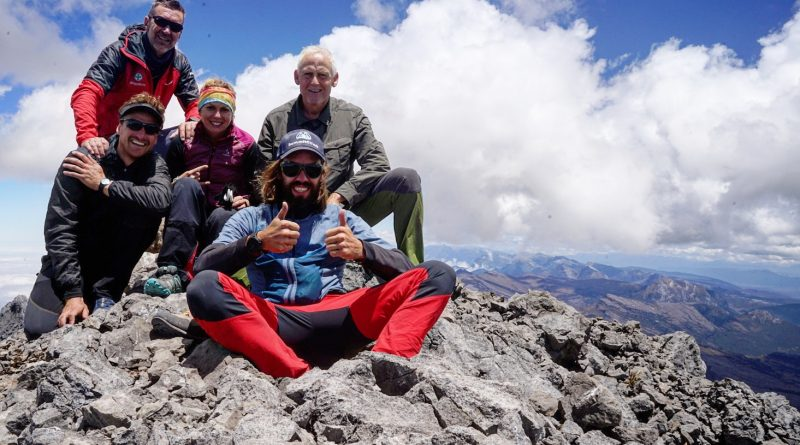 Trikora Summit, Felix Berg mit Gruppe