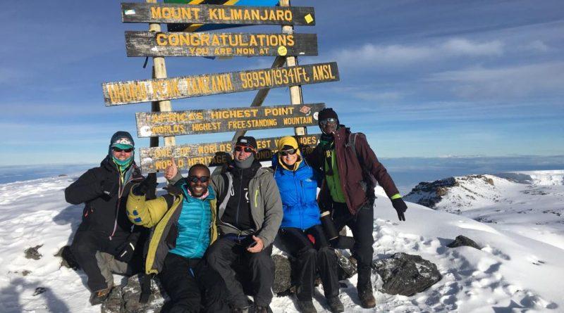 Kilimanjaro Summit mit Bergsteigern, 2019 Besteigung