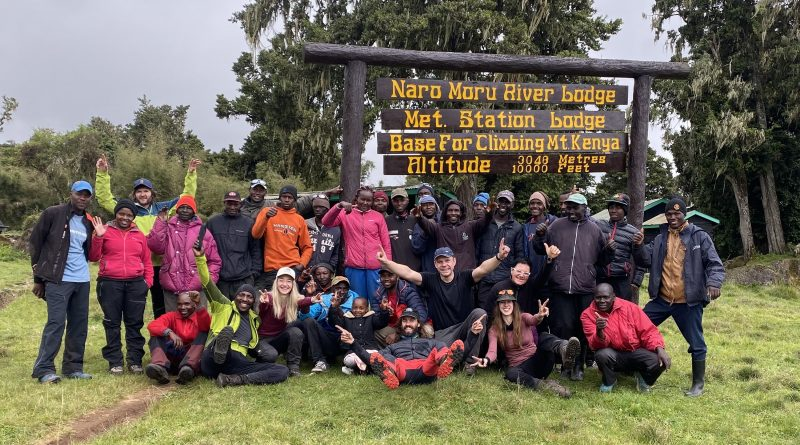 Mount Kenya Team, Naro Moru Gate