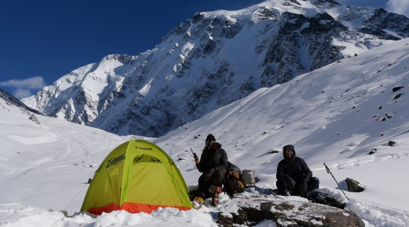Shimshal November High Camp