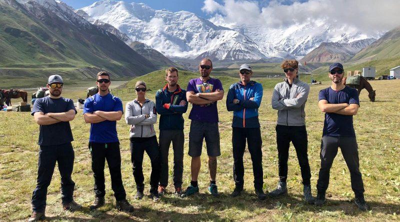 Team, Lenin Base Camp.