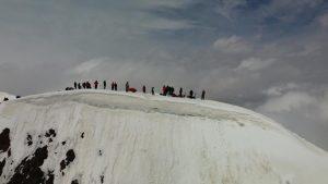 Yukhin Peak - Summit