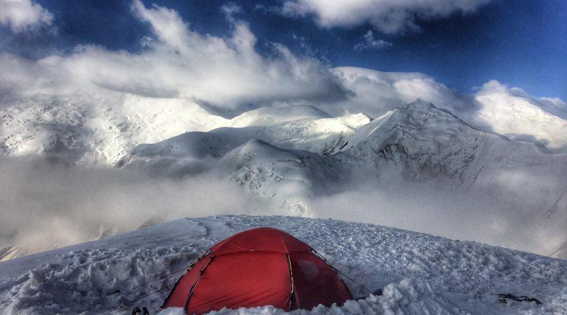 Camp am Yukhin Peak - Summit