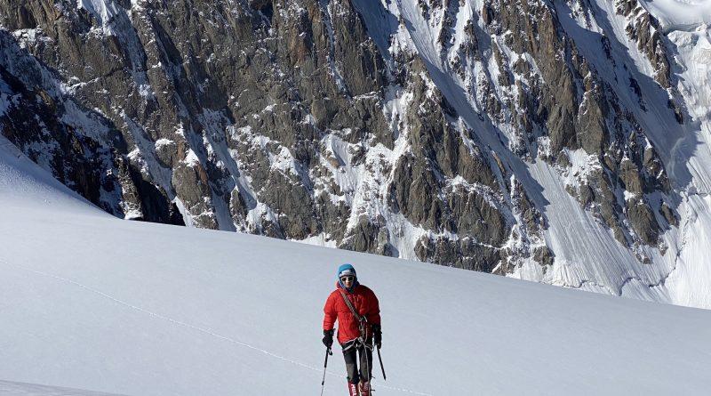 Korona (Corona) Peak Climb, Magdalena Wilczek ascent