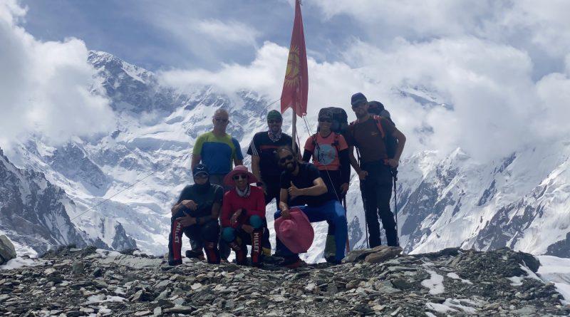Khan Tengri Team, Bergsteiger vor Pik Pobeda