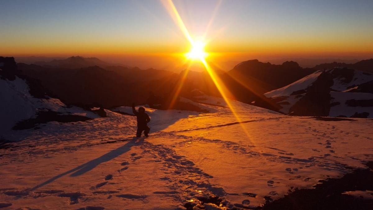 Aconcagua-2018 Tour Nr.3 - sunset 2