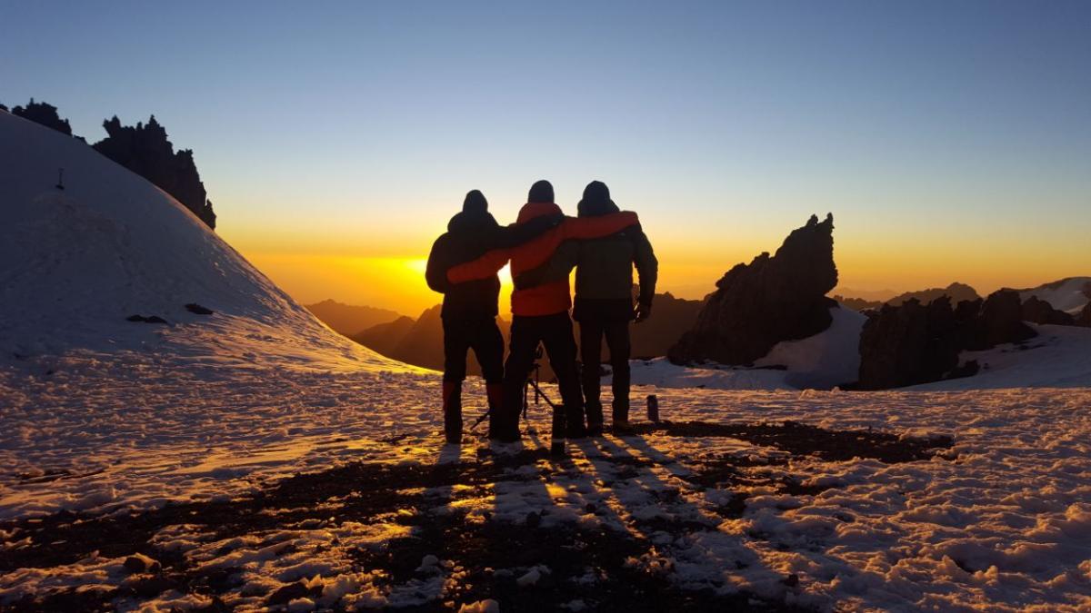 Aconcagua-2018 Tour Nr.3 - sunset