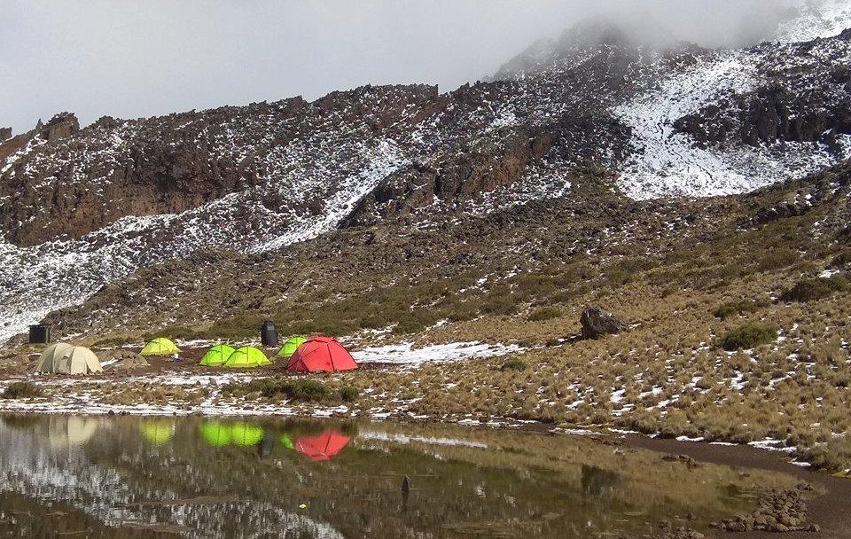 Kilimanjaro-2018 Tour Nr.3 SummitClimb Camp