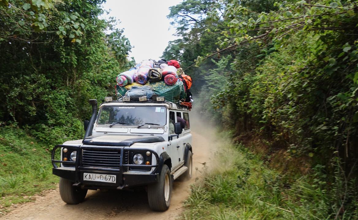 Mount-Kenya Drive