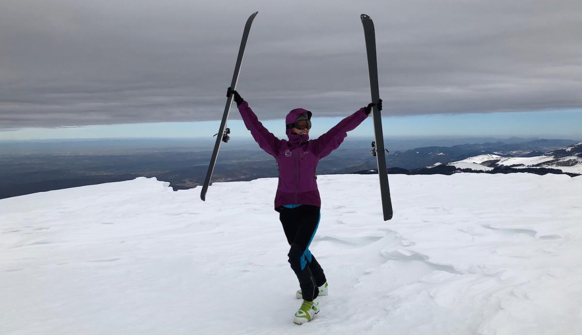 2018-03 Skitour Training Pyrenees