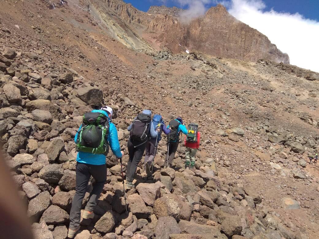 am Kilimandscharo